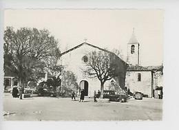Tourrettes Sur Loup, L'église (cp Vierge N°20 Coll Cresp Tabac) Animée Vieille Voiture - Other Municipalities