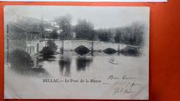 CPA.(86) Bellac.Le Pont De La Pierre.    (R.637) - Bellac
