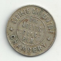 Nécessité - 50 Centimes - PLM - Chambéry - 1898  - TB/TTB - Monétaires / De Nécessité