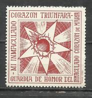 SO67- ESPAÑA GUERRA CIVIL REQUETES CARLISTAS, NUEVOS MNH** SPAIN CIVIL WAR. CORAZON TRIUNFARA - Vignetten Van De Burgeroorlog
