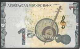 Azerbaijan 1 Manat 2020 Pnew UNC - Azerbaïjan