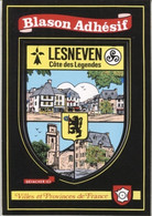 CPM - BLASON ADHESIF - LESNEVEN - Edition Vacances - Lesneven