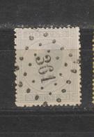COB 18 Oblitéré LP 361 TIRLEMONT +2 - 1865-1866 Perfil Izquierdo