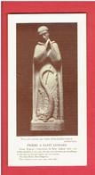 PRIERE A SAINT LIPHARD TERRE CUITE EXECUTEE POUR L EGLISE DE OINVILLE SAINT LIPHARD PAR LES ATELIERS LOIRE - Religion & Esotericism