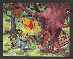 Disney Sierra Leone 1985 Winnie The Pooh MS MNH - Disney