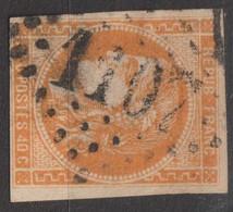 N°48, 40c Orange Oblitéré GC 1107 - 1870 Ausgabe Bordeaux
