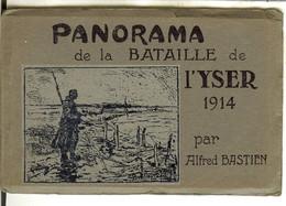 Carnet PANORAMA De La Bataille De L'YSER 1914 Par Alferd Bastien , 10 Cartes ( Nieuwpoort , Diksmuide ) - Nieuwpoort