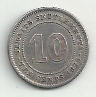 Straits Settelments - 10 Cents - 1926 - TB/TTB - Colonies