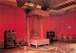 37 - Azay Le Rideau - Intérieur Du Château - Chambre Rouge - Carte Neuve - CPM - Voir Scans Recto-Verso - Azay-le-Rideau