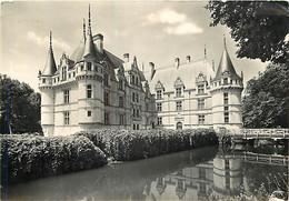 37 - Azay Le Rideau - Le Château - CPSM Grand Format - CPM - Voir Scans Recto-Verso - Azay-le-Rideau