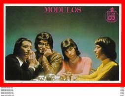 CPSM/gf MUSIQUE. MODULOS, Groupe De Rock, Pop, Dédicassé Voir RV...S635 - Musica E Musicisti