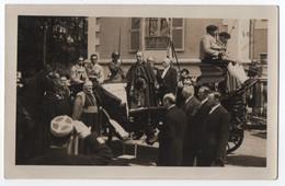 CARTE PHOTO LACAZE LOURDES : EUGENIO PACELLI ( PIE XII EN 1939 ) AU JUBILE DE LA REDEMPTION A LOURDES EN 1935 - R/V - - Lourdes