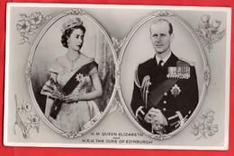 UK  QUEEN ELIZABETH 2  + HRH THE DUKE OF EDINBURGH   RP  Pu 1953 - Royal Families