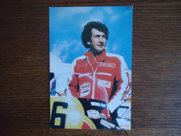 Carte Postale STEVE PARRISH - Texaco Heron Team SUZUKI ( +/- 1979 - 1980 ) - Motorcycle Sport