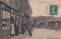 Thiberville  Rue De Bernay   Animée - Altri Comuni
