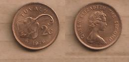 TUVALU   2 Cents -1976  Bronze • 5.2 G • ⌀ 21.6 Mm KM# 2, Schön# 2 - Tuvalu