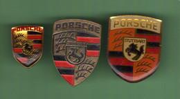 PORSCHE *** LOGO *** Lot De 3 Pin's Differents *** 2082 - Ford