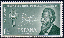 326 Espagne Rontgen Roentgen X-ray Radiology Radiologie MNH ** Neuf SC (ESP-26) - Medicine