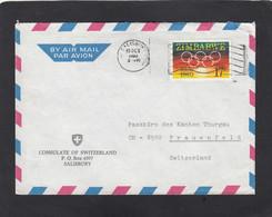 CONSULATE OF SWITZERLAND,SALISBURY. 1980. - Zimbabwe (1980-...)