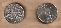 LETONIA   1 Lats (Sprīdītis) 2004  Copper-nickel • 4.8 G • ⌀ 21.75 Mm KM# 61, Schön# 66 - Latvia