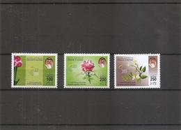 Bahrein - Fleurs  ( 775/777 XXX -MNH) - Bahrain (1965-...)