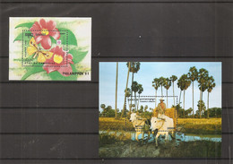 Cambodge ( BF 88 + BF 189 XXX -MNH) - Cambogia