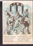 Künstlerpostkarte Luzern Zunft Zu Safran , Fritschi - Essen , Fasnacht  1930 - LU Lucerne