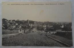 CPA Montreuil-sous-Bois - Vue Panoramique - Haut Montreuil - L'Eglise - Montreuil