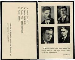 ANZEGEM / LEDEBERG / WAREGEM / TIEGEM - Gesneuveld In Anzegem Op 6 September 1944 - Devotieprenten