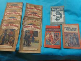 Lot De Livres Roman Et Autres Par Andre Mad-m. Vigier-e. De Riche- Etc.. - Bücherpakete