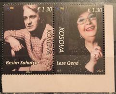 Kosovo, 2021, Legends Of Cinema (MNH) - Kosovo
