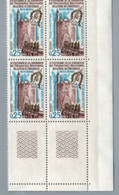 FRANCE 1968 - Yv 1566  - Bloc De 4 Neuf** - Nuevos