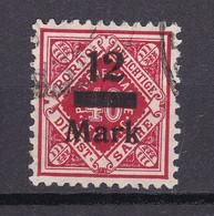 Wuerttemberg - 1922/23 - Dienstmarken - Michel Nr. 161 - Geprüft - Gestempelt - Wurttemberg
