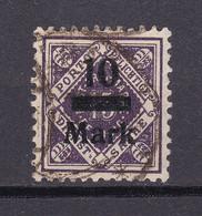 Wuerttemberg - 1922/23 - Dienstmarken - Michel Nr. 160 - Geprüft - Gestempelt - Wurttemberg