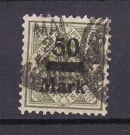 Wuerttemberg - 1922/23 - Dienstmarken - Michel Nr. 165 - Geprüft - Gestempelt - Wurttemberg