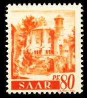 SAARLAND 1947 Nr 223Z Postfrisch X5FE30E - Ungebraucht