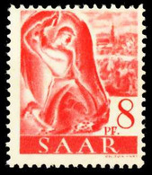 SAARLAND 1947 Nr 209Z Postfrisch X5FE32E - Ungebraucht