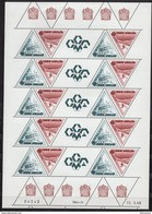 MONACO 1988 DUO  N°1641 / 1642 EN FEUILLE NEUFS ** E51 - Bloques