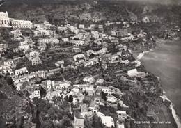 POSITANO-SALERNO-VISTA DALL'ALTO-CARTOLINA VERA FOTOGRAFIA-VIAGGIATA IL 4-4-1964 - Salerno