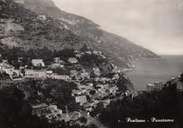 POSITANO-SALERNO-PANORAMA-CARTOLINA VERA FOTOGRAFIA-NON VIAGGIATA -1958-1965 - Salerno