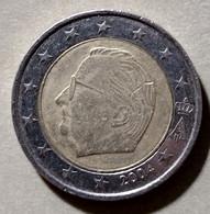 2004 - BELGIO  - MONETA IN EURO - DEL VALORE DI 2,00  EURO  - USATA - - Belgien