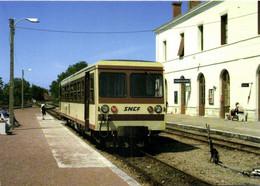 "Gare De ROMORANTIN (41) Autorail X241 ""Socoter"" Valencay Salbris RV - Romorantin"