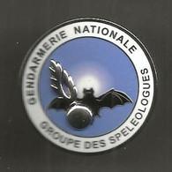 Militaria , INSIGNE, GENDARMERIE NATIONALE, Groupe Des Speleologue, GNS 009, Boussemart , Frais Fr 1.95 E - Police & Gendarmerie