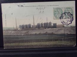 54202 . HOMECOURT . SOCIETE DES ACIERIES DE LA MARINE . LES HAUTS FOUNEAUX . 1907 . D. CUISIN . EDIT. - Homecourt