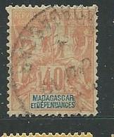 MADAGASCAR N° 37 OB  TB 5 - Used Stamps