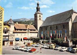 74 - Megève - La Place De L'Eglise - Megève