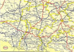 CARTE ROUTIERE ESSO - Carte Geografiche