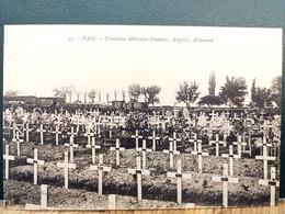 80, Ham, Le Cimetière Militaure Français  ,anglais  ,allemand En 1923 - Ham
