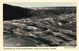 Grönland, Stromschnelle Am Grossen Karajak-Gletscher Abfluss Des Inlandeises, Phot. Dr. Arnold Heim - Greenland