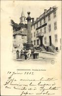 CPA Chaudes Aigues Cantal, Fontaine Du Gravier - Altri Comuni